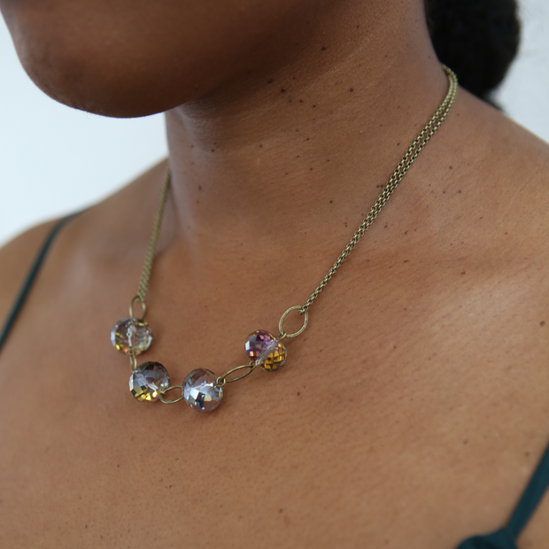 Celestial Necklace - Gilded Pinot