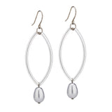 Cleo Earrings – Silver