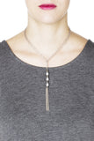 Cleo Necklace - Silver 3
