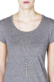Cleo Necklace - Silver 2