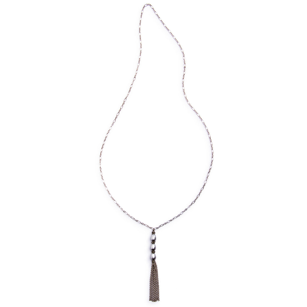 Cleo Necklace - Silver
