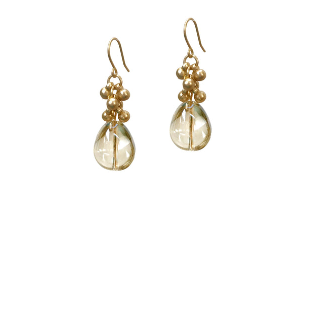 Coco Bauble Drop Earrings - Gold