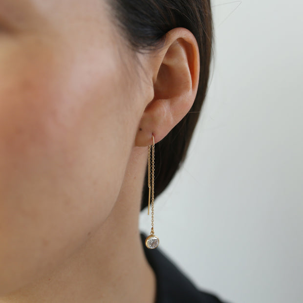 Collette Threader Earrings - 14k Gold Fill