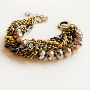 Crystalline Bracelet - Mixed Metals