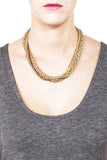 Crystalline Convertible Necklace - Gold 3