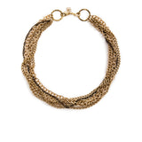 Crystalline Convertible Necklace - Gold