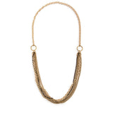 Crystalline Convertible Necklace - Gold 2