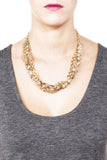Daphne Statement Necklace - Gold 2