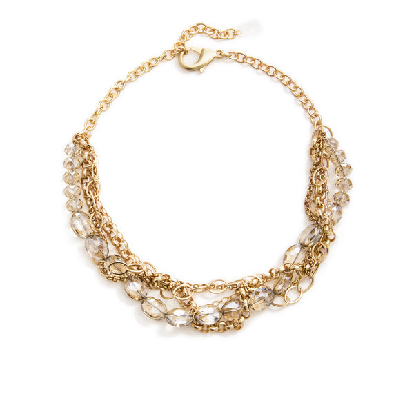 Daphne Statement Necklace - Gold