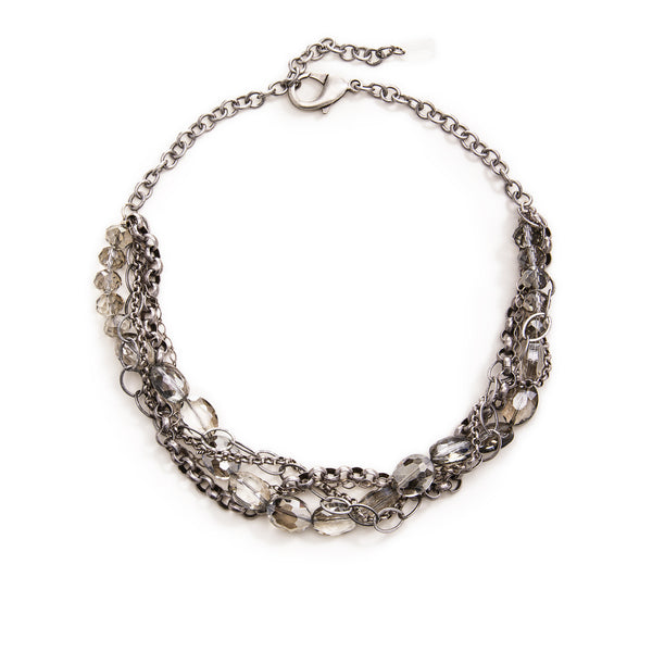 Daphne Statement Necklace - Silver