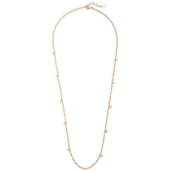 Deca Wrap Necklace - Gold