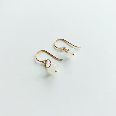 Delphine Moonstone Earrings - 14k Gold Fill