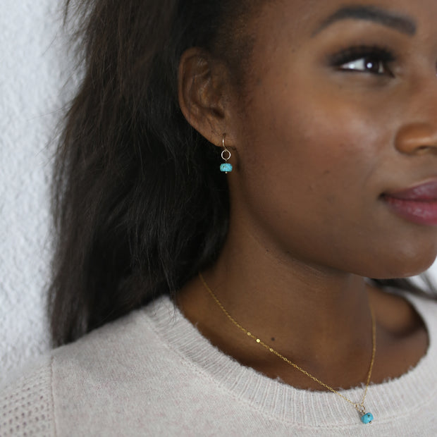 Delphine Turquoise Set - 14K Gold Fill