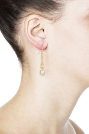 Dinah Earrings - Gold 2