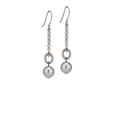 Dinah Earrings – Silver