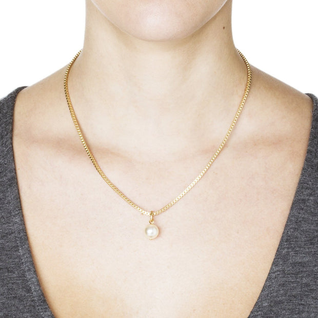 Eartha Necklace – Gold 2
