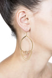 Edessa Earrings - Gold 2