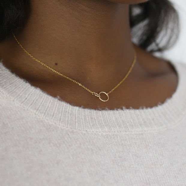 Ella Linked Ring Set - 14K Gold Fill