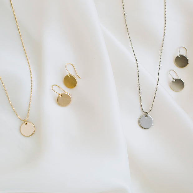 Elodie Coin Necklace - Gold