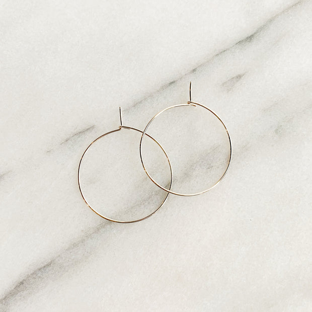 Essential Small Hoops - Sterling Silver