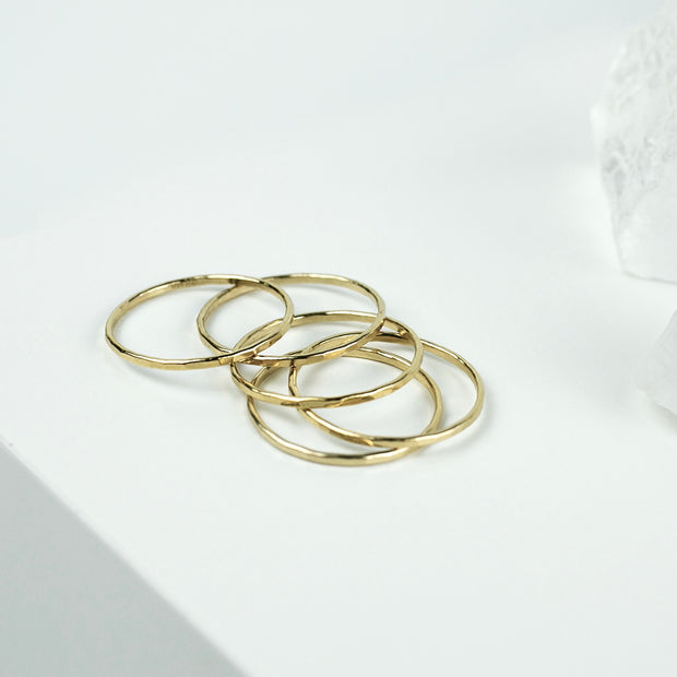 Essential Stacking Ring - 14k Gold Fill