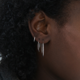 Essential XS Hoops - Sterling Silver