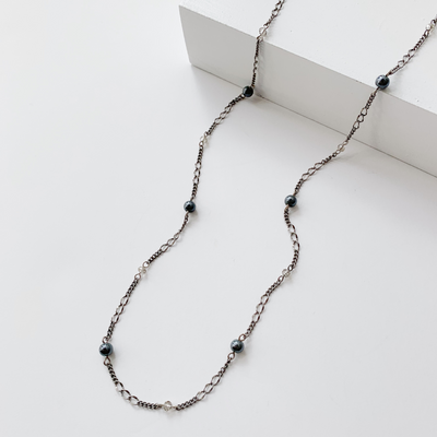 Françoise 3-in-1 Wrap Necklace - Silver