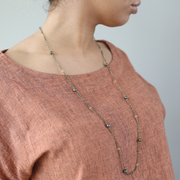 Françoise 3-in-1 Wrap Necklace - Brass
