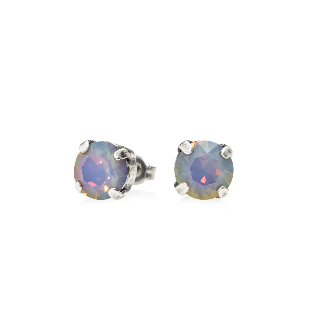 Grace Swarovski Crystal Stud Earrings - Oceanic Opal