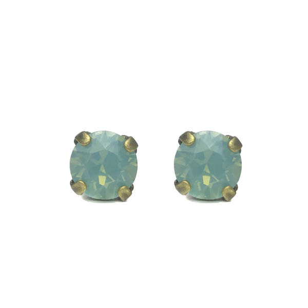 Grace Swarovski Crystal Stud Earrings - Riviera