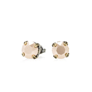 Grace Swarovski Crystal Stud Earrings - Rose Gold