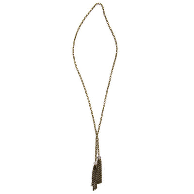 Hampton Convertible Necklace - Brass