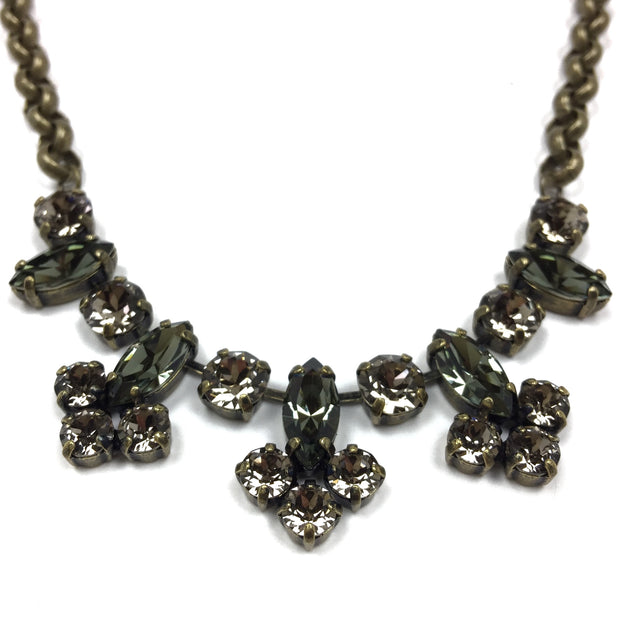 Hanover Statement Necklace - Brass 2
