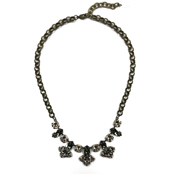 Hanover Statement Necklace - Brass