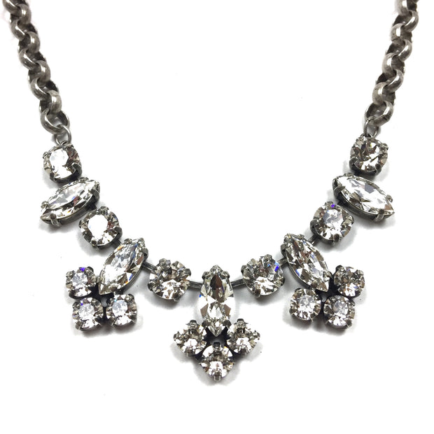 Hanover Statement Necklace - Silver 2