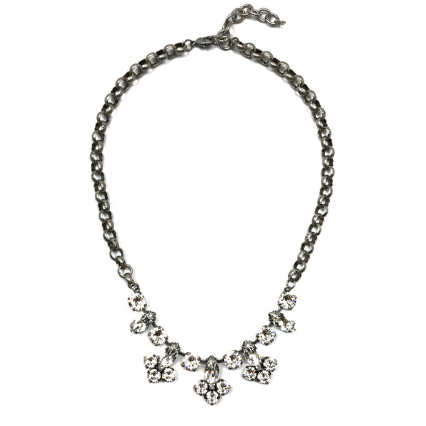 Hanover Statement Necklace - Silver