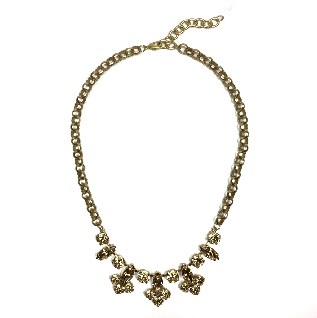 Hanover Statement Necklace - Gold