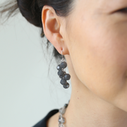 Inès Bauble Earrings - Silver