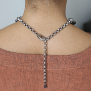 Inès Statement Necklace - Silver