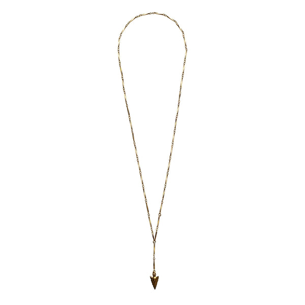 'Intuition' Long Pendant Necklace - Limited Edition Gold