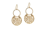 Isabel Earrings - Gold