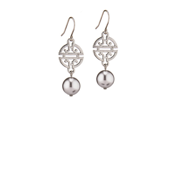 Kyoto Earrings - Silver