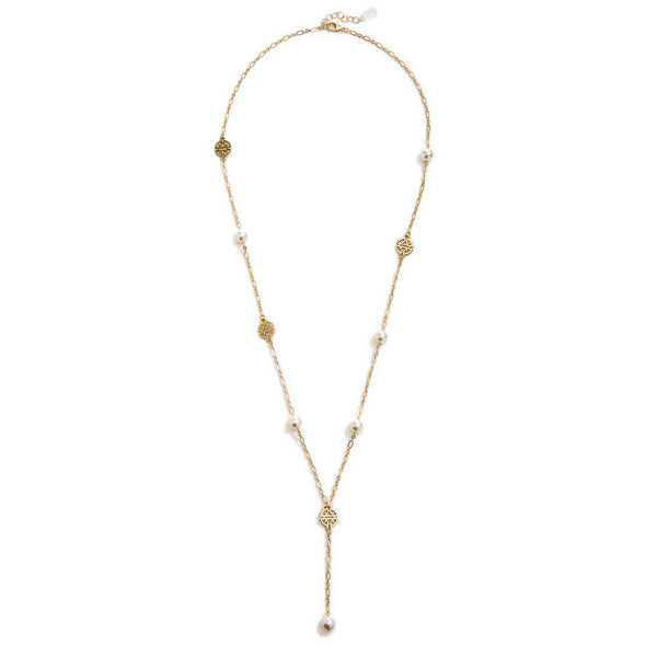 Kyoto Long Necklace - Gold
