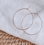 Essential Large Hoops - 14k Rose Gold Fill
