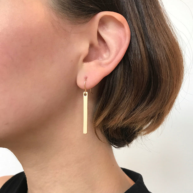 Lucia Drop Earrings - Gold