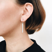 Lucia Drop Earrings - Silver 2
