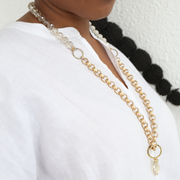 Lyra 2-in-1 Necklace - Gold