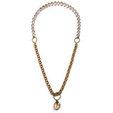 Lyra Convertible Necklace - Gold 2