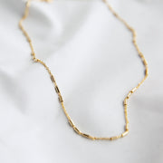 Maiya Bar Chain Choker Necklace
