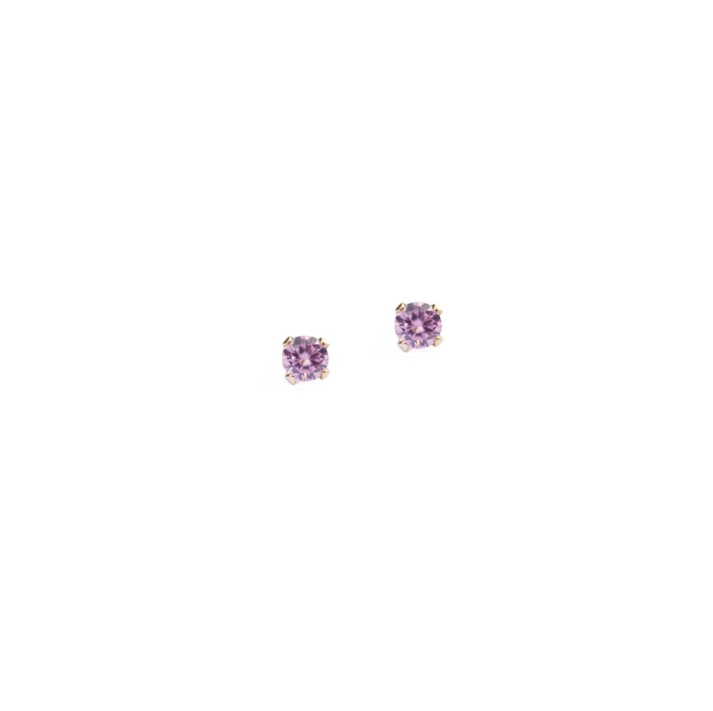 Marilyn Micro Stud Earrings - Pink